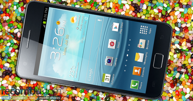 Galaxy S II, parte dalla Spagna il roll out ad Android 4.1.2 Jelly Bean
