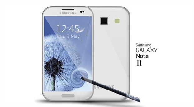 Samsung Galaxy Note II, sottile, flessibile e con display da 5,5 pollici