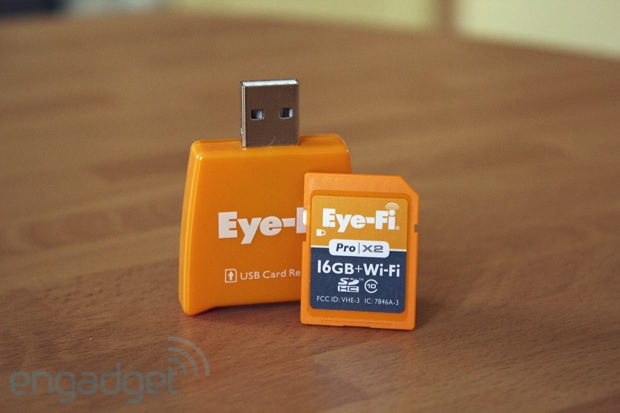 Eye-Fi Pro X2 16GB, la prima SD con connessione WiFi