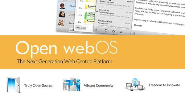 HP rilascia Open webOS, sistema operativo mobile e desktop Open Source
